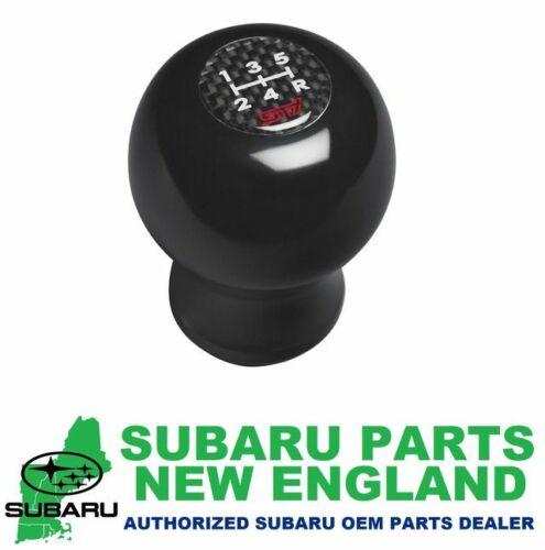 Genuine OEM Subaru STI Duracon Shift Knob 5MT 5-Spd 5 M//T C1010FG310
