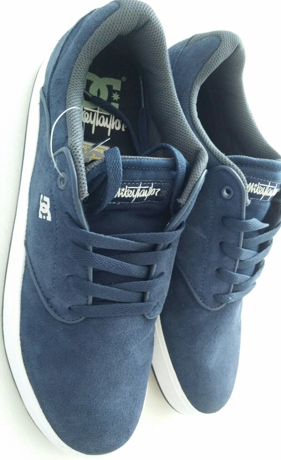DC Shoes NEU Trend Sneaker Wildleder Herren Marken Sneaker Mike Taylor Loh Top