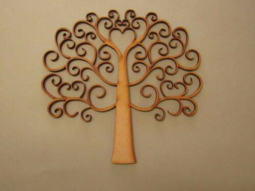 Anniversaries /& Celebration Frames Wooden Family Tree for Weddings Swirl Style