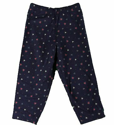 JACADI Girl/'s Margine Cute Multi-Color Floral Capri Bottoms Sz 4 Years NWT $54
