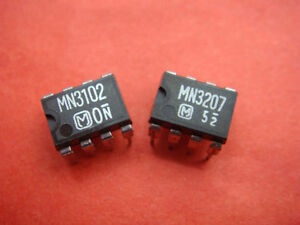 5X-PANASONIC-MN3207-5X-MN3102-CHORUS-FLANGER-BBD-IC