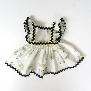 Vtg-1950s-Doll-FULL-SKIRT-APRON-DRESS-Ideal-Toni-14-039-039-15-039-039-Miss-Revlon-Sweet-Sue