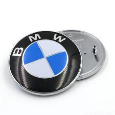 BMW 82MM COCCARDA COFANO avvio Badge Emblema 1 Series