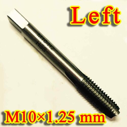 HSS M10 × 1.25 mm left Hand machines Tap Threading Tool