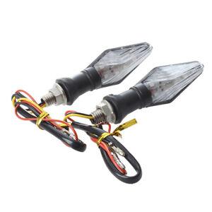 2-x-12-LED-indicators-indicator-motorcycle-Scooter-yellow-blue-Light-M0T2