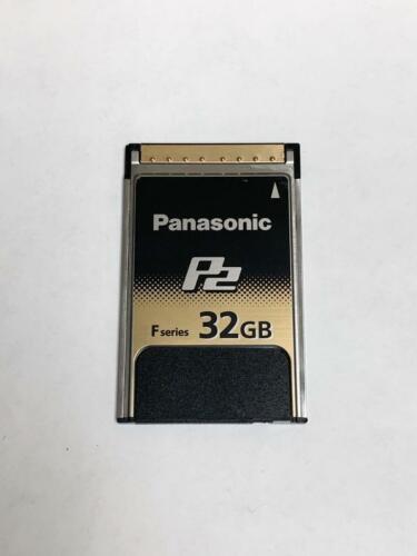 30 Day Warranty Panasonic 32GB F-Series 1.2 GB//s P2 Card with Hard Case