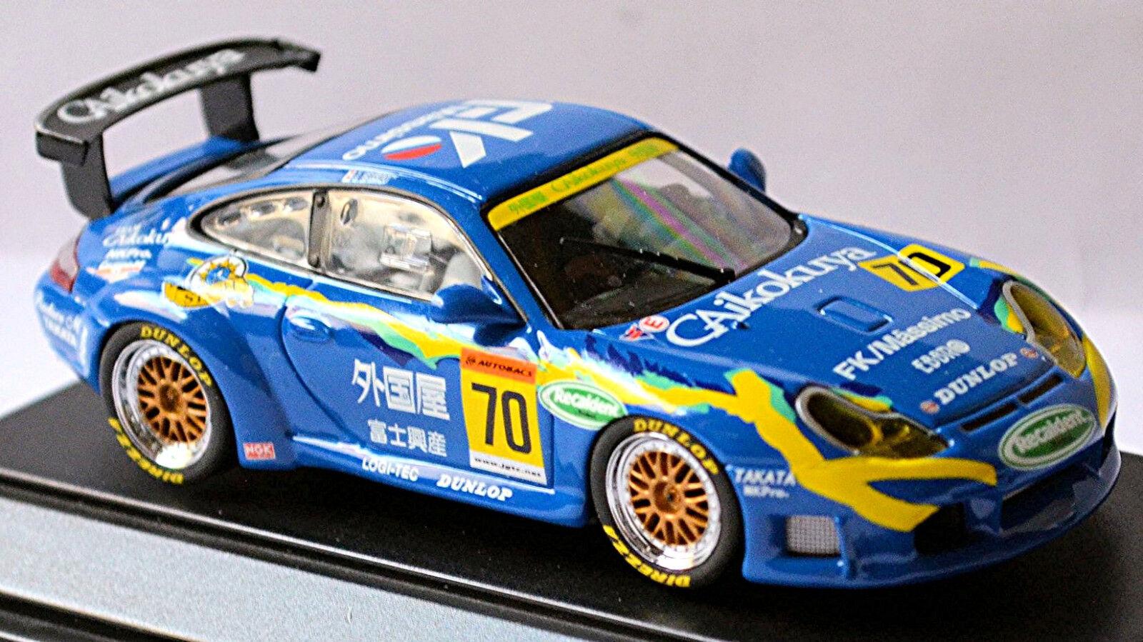 Porsche 911 GT3R Dunlop Gaikokuya JGTC 2003  70 Ishibashi Shimizu 1 43 Ebbro