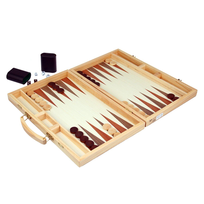 backgammon tavla gro er holz koffer in uttwil kaufen bei. Black Bedroom Furniture Sets. Home Design Ideas