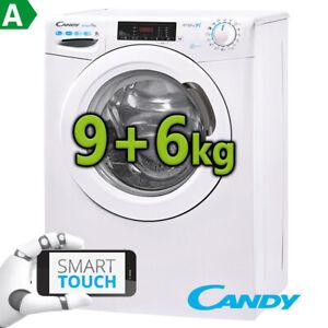 Waschtrockner-Waschmaschine-Trockner-Candy-by-Hoover-9-6-kg-EEK-A-2in1-Dampf