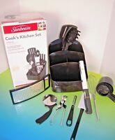 Sunbeam 25-piece Cook's Kitchen Tool Set, Black