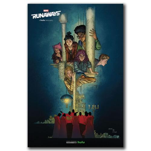 Runaways Marvel Amazing Art Hot 12x18 24x36in FABRIC Poster N3464