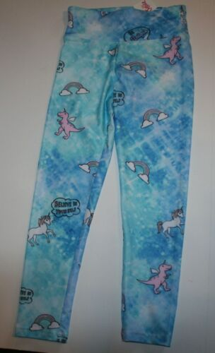 NEW Justice Believe In Yourself Unicorn Leggings NWT Size 8 10 12 14 16 18 20 Yr