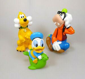 Disney-Goofy-Pluto-amp-Donald-Baby-Weichplastik-3-Sammelfiguren-ca-9-5-13-5-cm