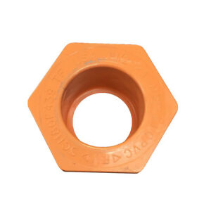 "BlazeMaster 1-1//4/"" CPVC Cap Fire Sprinkler System Orange Pipe Fitting"