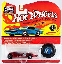 Hot Wheels 25th Anniversary Twin Mill Metallic Red Series E & L MOC 1993