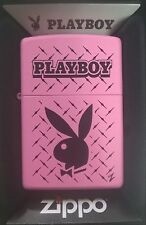 ZIPPO LIGHTER  PINK MATTE  PLAYBOY + hologram presentation box