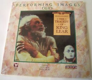 NEW-Shakespeare-039-s-The-Tragedy-Of-King-Lear-Laser-Disc