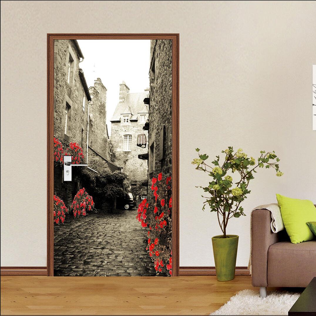 3D Straße Straße Straße 82 Tür Wandmalerei Wandaufkleber Aufkleber AJ WALLPAPER DE Kyra | Gemäßigten Kosten  | Ruf zuerst  |  af9c1c