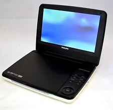 "Philips PD9000/37 9"" LCD Widescreen Portable DVD Player White/Blk car DivX dvdr"