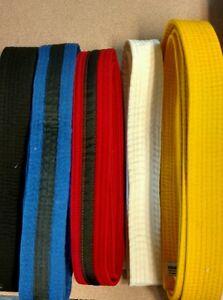 Taekwondo Belts  All Colors/Sizes