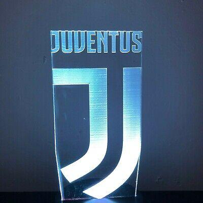 7 Colors Change Football Club 3D LED Night Light Italy Juventus AC Milan Lamp