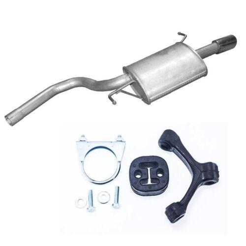 Montageware Endschalldämpfer Auspuff Audi A4 2.0 131PS Motor//ALT Neuware