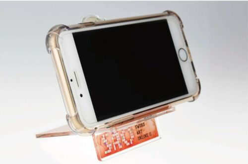 Sword Art Online Sinon Kirito Character Acrylic Smart Mobile Phone Stand Anime