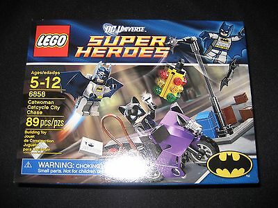 LEGO Batman 6858 Catwoman Catcycle City Chase NEW Sealed MISB FAST FREE SHIPPING