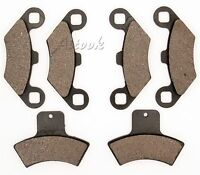 Front Rear Brake Pads For Polaris Sportsman 500 4x4 Ebs 2000 2001 2002