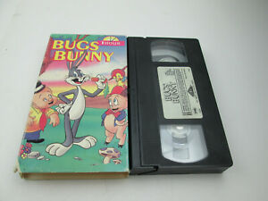 Bugs-Bunny-VHS-Featuring-Whole-Hour-of-8-Cartoons-1992-GoodTimes-Home-Video