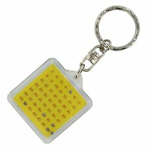 Lotto Keyring National lottery  Lucky Numbers Picker balls