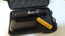 Genuine SHADOWHAWK X800 Tactical Flashlight LED Zoom Torch FREE SHIPPING