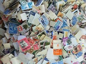 WORLDWIDE-STAMP-MIXTURE-LOT-OVER-800-MINT-amp-USED-Mixed-FOREIGN-STAMPS