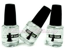 3 Nail Art UV Top Coat Acrylic Gel Polish Shiny Gloss Lamp Systems Manicure #119