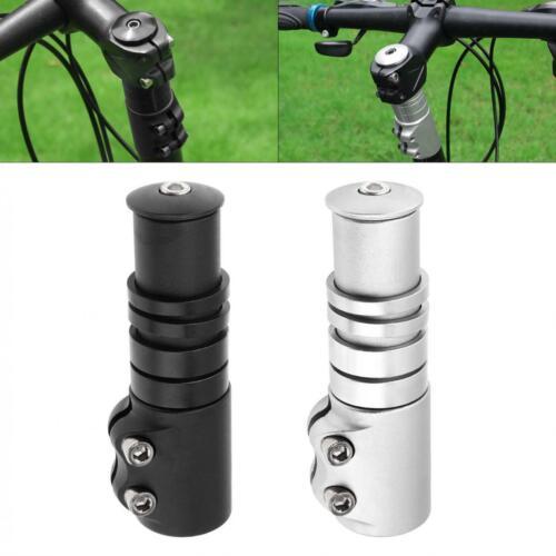 Aluminum Alloy Cycle Bike Bicycle Stem Raiser Extender Head Up Handlebar Raiser