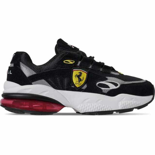 108cb916d4354 Men's Puma Scuderia Ferrari CELL Venom Running Shoes Black/White/Rosso  Corsa 370