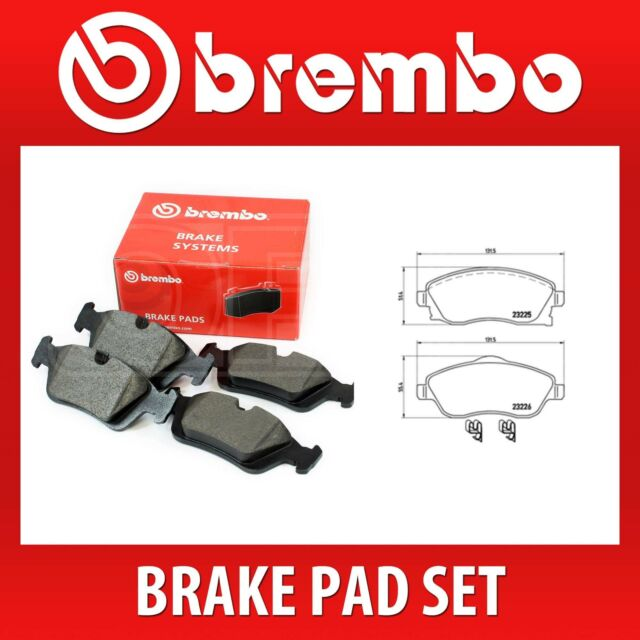 VAUXHALL CORSA C 1.4 Brake Pads Set Front 00 to 06 B/&B 09200108 1605081 1605092