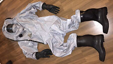 CSA MSA Auer Chemieschutzanzug Chemikalienschutzanzug Hazmat Suit Rubber Suit