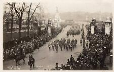 Military Band 4th Gen Infantry Division  London unused RP old pc West Godalming