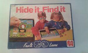 Hide it, Find it  Board Game. Brand New