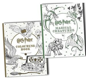 Image Is Loading Harry Potter 2 Coloring Book Collection Including Magical