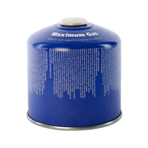 12 Gaskartuschen auswählbar bis 500g Gaskartuschen MSF1a//ES-01 MaXimum 1 -