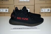 Adidas Yeezy Boost 350 V2 Black Red CP9652 SPLY Kanye West NEW