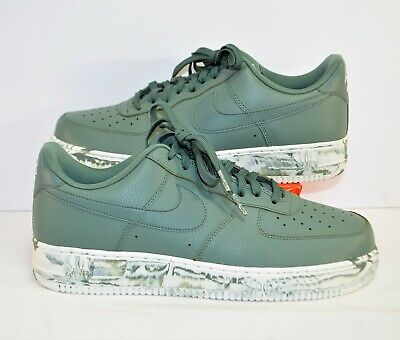 Nike Air Force 1 07 LV8 Low Clay Green Marble & White Shoes Sz 13 NEW AJ9507 300 | eBay