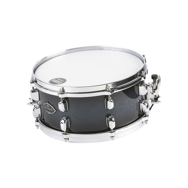 "Tama Starclassic Walnut//Birch 14/"" Dia X 5.5/"" Deep Snare Drum//Piano Black//New"