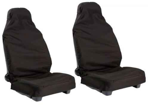 MINI Club Van WATERPROOF BLACK VAN SEAT COVERS 2 SINGLE 1+1