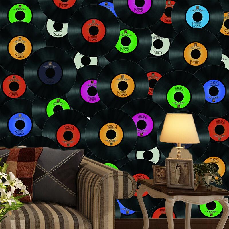 3D Many discs Wall Paper Print Wall Decal Deco Indoor Wall Murals
