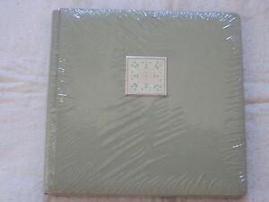 Creative-Memories-12-x-12-Album-original-size-Kaleidoscope-SAGE-GREEN-NIP