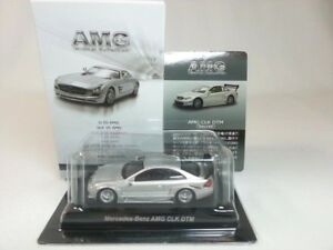 1-64-Kyosho-Mercedes-Benz-AMG-Minicar-Collection-CLK-DTM-C209-Silver-Secret-Car