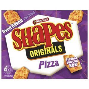 Arnott's Tasty Oven Baked Shapes Originals Pizza Flavoured Snack Chips 190g
